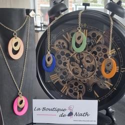 """Les Bijoux """"Les Cordes"""", une marque belge!!! N'hésitez pas à découvrir les modèles disponibles à la Boutique de Nath. Voici le collier Cinnou.  👉 Profitez en plus de 10% jusqu'au 30 juin 2021  (Même si vous passez votre commande en MP ou sur le marché de Juprelle ce samedi si la météo est clémente - Sur le site code LBN10)  🌐 www.laboutiquedenath.be FB/Insta : laboutiquedenath2020  🚚 Envoi Colis gratuit en Belgique dès 50€ d'achat - Retrait gratuit sur Lantin (Juprelle) ou sur le marché hebdomadaire de Juprelle (Samedi) - Livraison en France et au Grand-Duché  #laboutiquedenath #bijoux #jewelry #fashion #moda #bracelet #jewels #love #style #accessories #jewellery #bijouxlovers #earrings #necklace #gioielli #bijouxias #orecchini #bracelets #colliers #collier #bouclesoreilles #asymétriques #triptyques"""