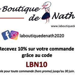 Bénéficiez de 10% sur tous les produits de la Boutique, tant au marché que sur le site (Code LBN10) ou les commandes en MP emportées avant le 30/06/2021.  A noter que cette réduction est valable sur TOUS les produits, ce qui ne sera pas le cas des soldes! Donc si vous hésitez... C'est le moment!!!  🌐 www.laboutiquedenath.be FB/Insta : laboutiquedenath2020  🚚 Envoi Colis gratuit en Belgique dès 50€ d'achat - Retrait gratuit sur Lantin (Juprelle) ou sur le marché hebdomadaire de Juprelle (Samedi) - Livraison en France et au Grand-Duché  #laboutiquedenath #sacamain #sac #bougie #nokiss #chaussure #mode #sneakers #basket #sactendance #sacbandouliere #bougieparfumee  #bonnet #echarpe #accessoires #poncho #ponchostyle #LesCordes #nouvellecollection #bijoux #moda #jewels #accessories #bijouxlovers #bracelets #collier #bracelet  #asymétriques #triptyques