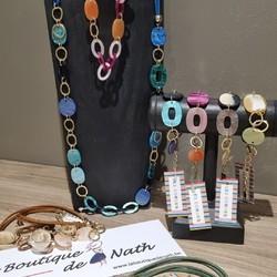Les Cordes = Plein de couleurs! Le soleil arrive!!!  Prix : 39€ le collier, 26€ le bracelet  🌐 www.laboutiquedenath.be  🚚 Envoi Colis gratuit en Belgique dès 50€ d'achat - Retrait gratuit sur Lantin (Juprelle) - Livraison en France et au Grand-Duché  #laboutiquedenath #LesCordes #oorbellen #accessoires #juwelen #nouvellecollection #bijoux #jewelry #fashion #moda #bracelet #jewels #love #style #accessories #nieuwecollectie #jewellery #bijouxlovers #earrings #necklace #gioielli #bijouxias #orecchini #bracelets #colliers #collier #armband #goudkleurig #kleur #kleuren